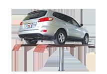 Cầu nâng 1 trụ chuyên rửa xe