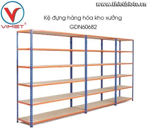 Kệ đựng hàng hóa kho xưởng GDN60682