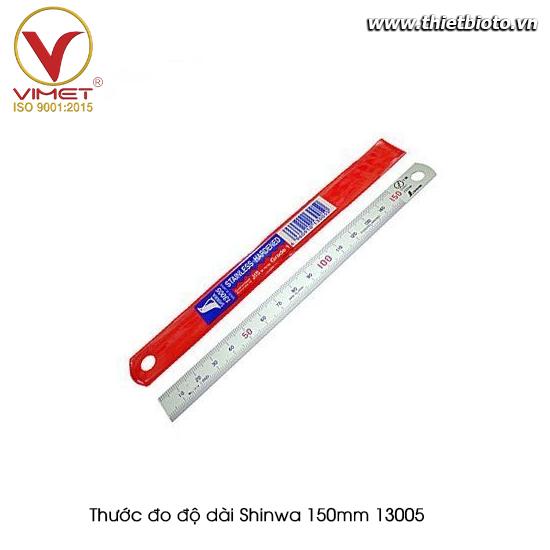 Thước đo độ dài Shinwa 150mm 13005