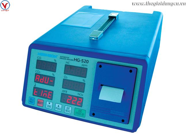 Máy kiểm tra nồng độ khí xả HG-520
