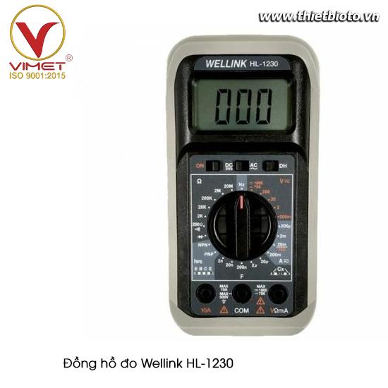 Đồng hồ đo Wellink HL-1230