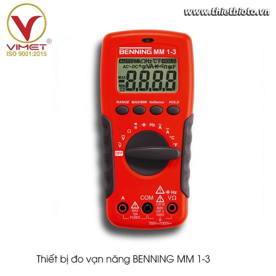 Thiết bị đo vạn năng BENNING MM 1-3