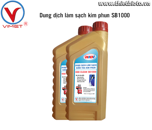 Dung dịch kiểm tra và làm sạch kim phun SB1000
