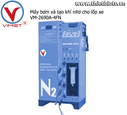 Máy bơm và tạo khí Nitơ cho lốp xe VM-2690A/4FN