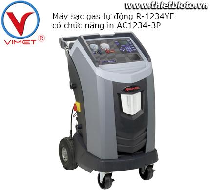 Máy sạc gas tự động R-1234YF có chức năng in AC1234-3P