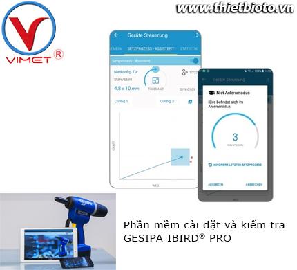 Phần mềm cài đặt và kiểm tra IBIRD® PRO