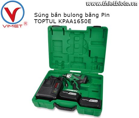 Súng xiết bu lông bằng Pin Toptul KPAA1650E