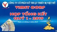 Vimet triển khai chương trình thương hiệu vàng và Thu nhập vàng tháng 5